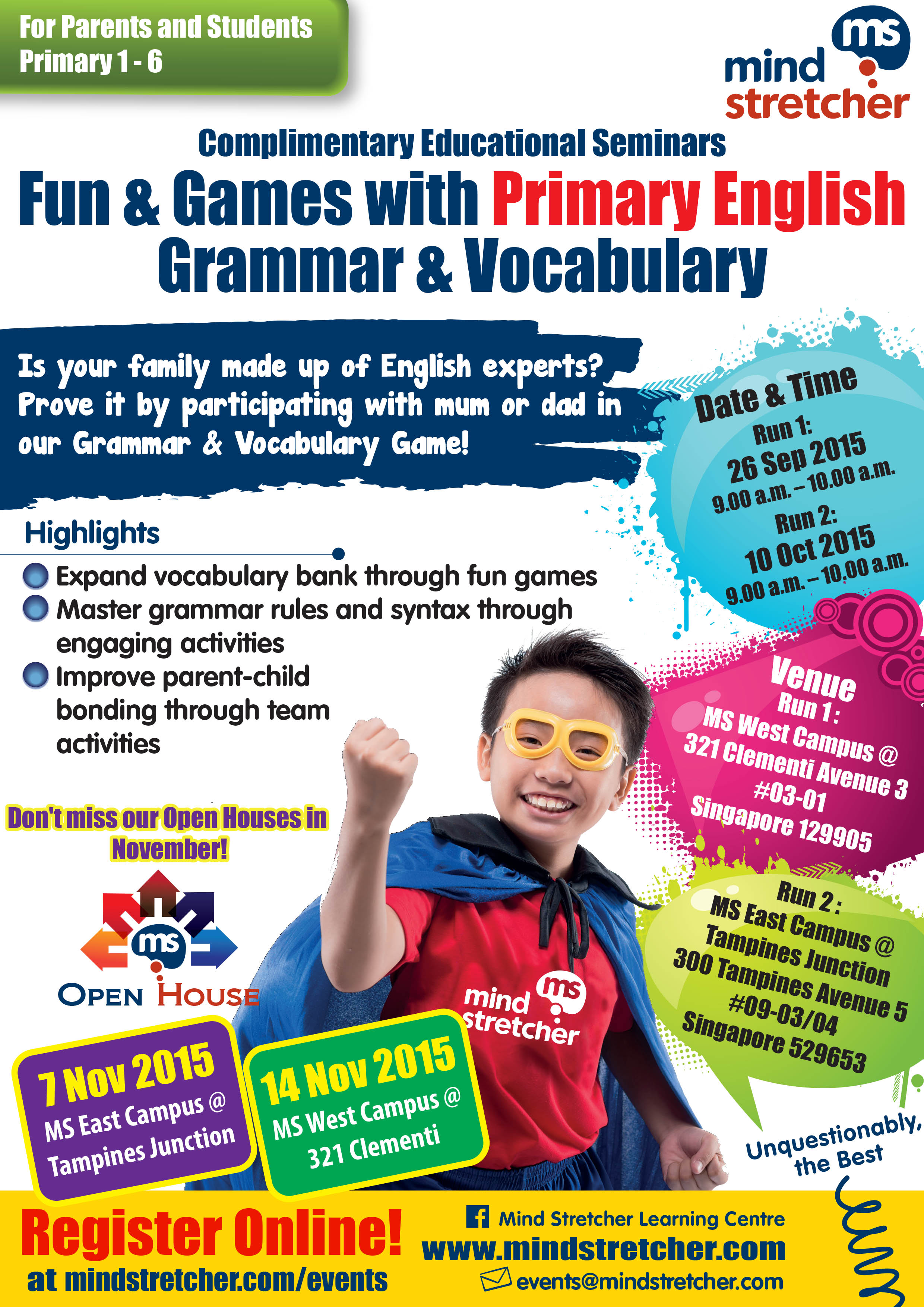Fun & Games with Primary English Grammar & Vocabulary (for Primary 1 ...