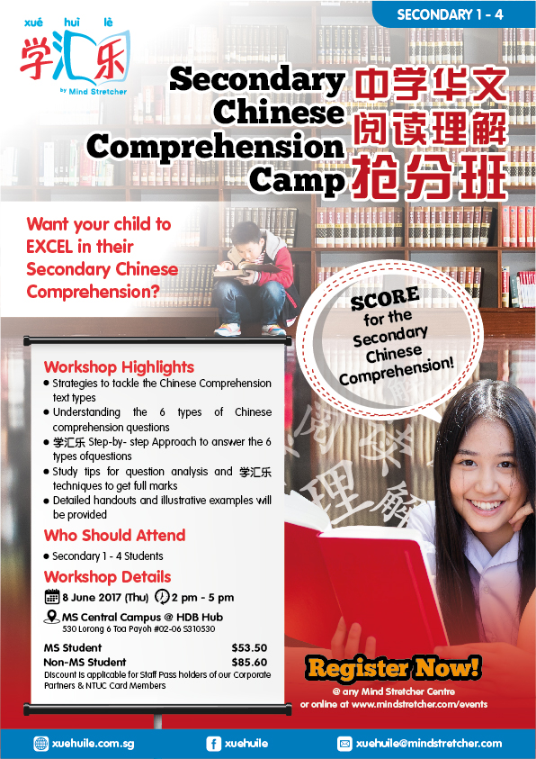 Chinese Comprehension Camp