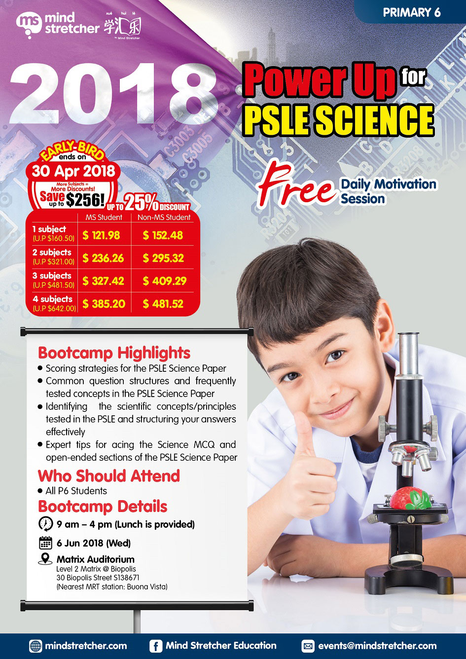 PSLE Power Up 2018
