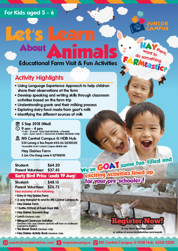 Let's Learn About Animals (Educational Farm Visit & Fun Activities)