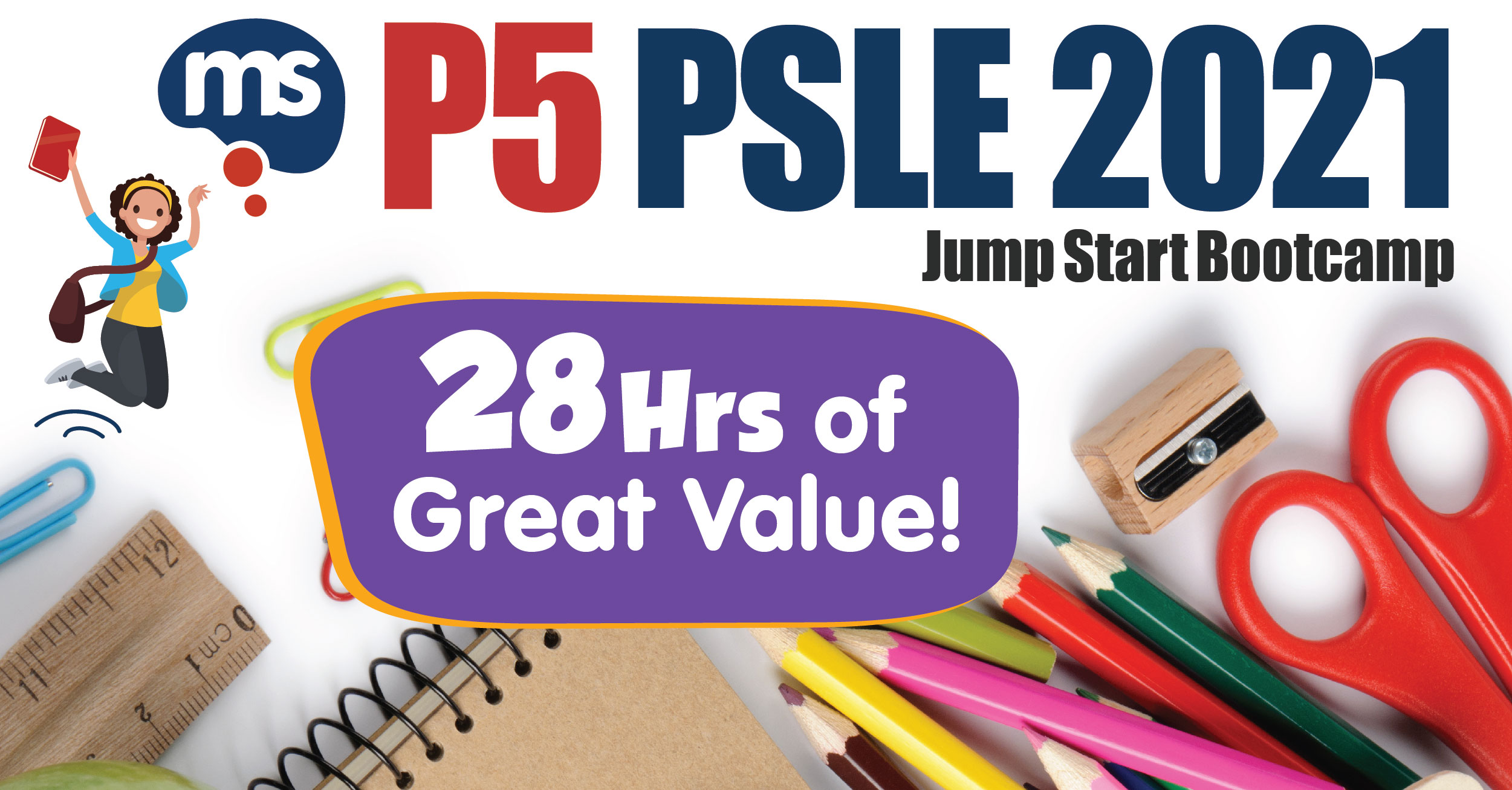 P5 PSLE 2021 Jump Start Bootcamp